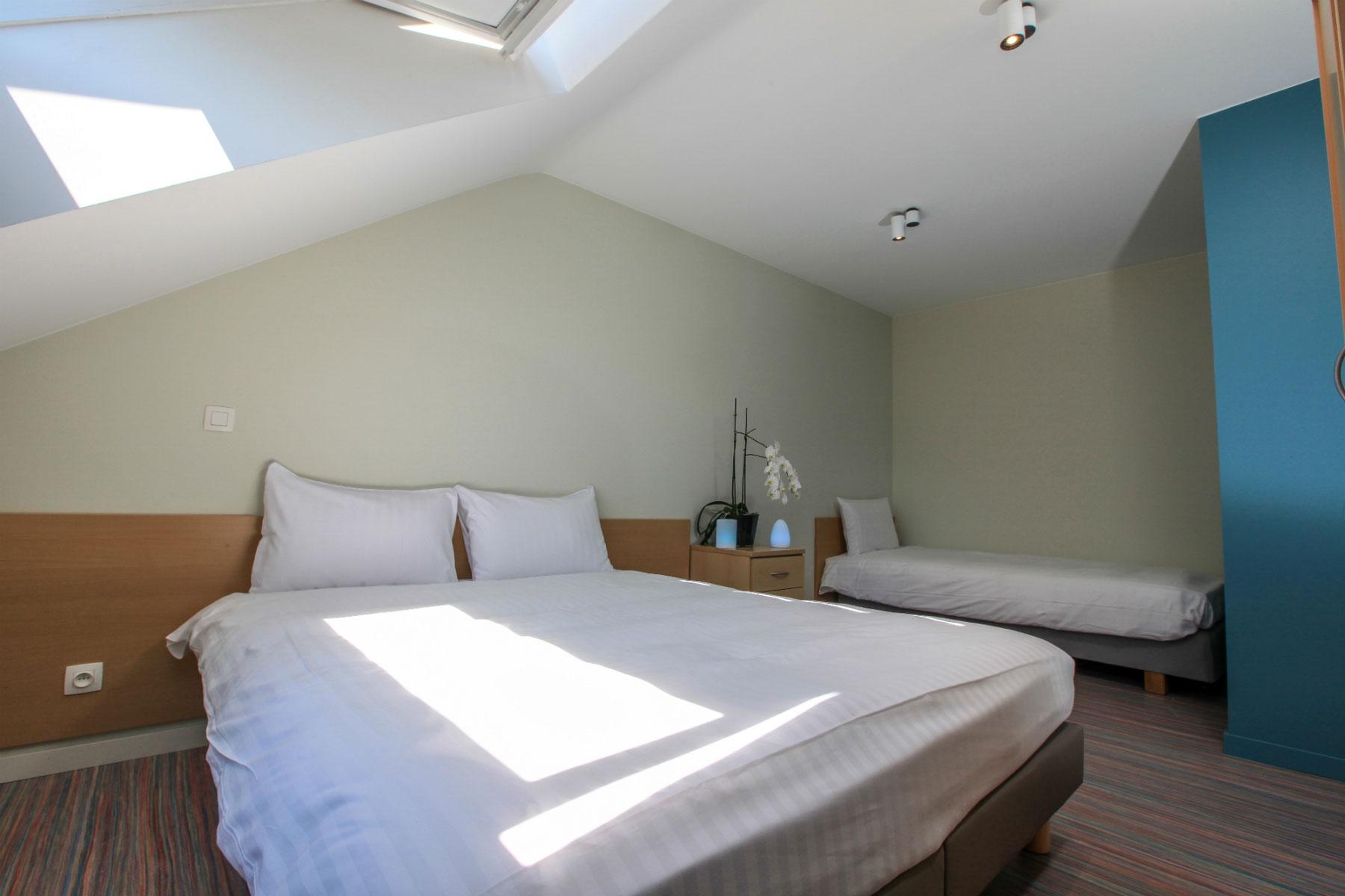 Azur en Ardenne appartement slaapkamer