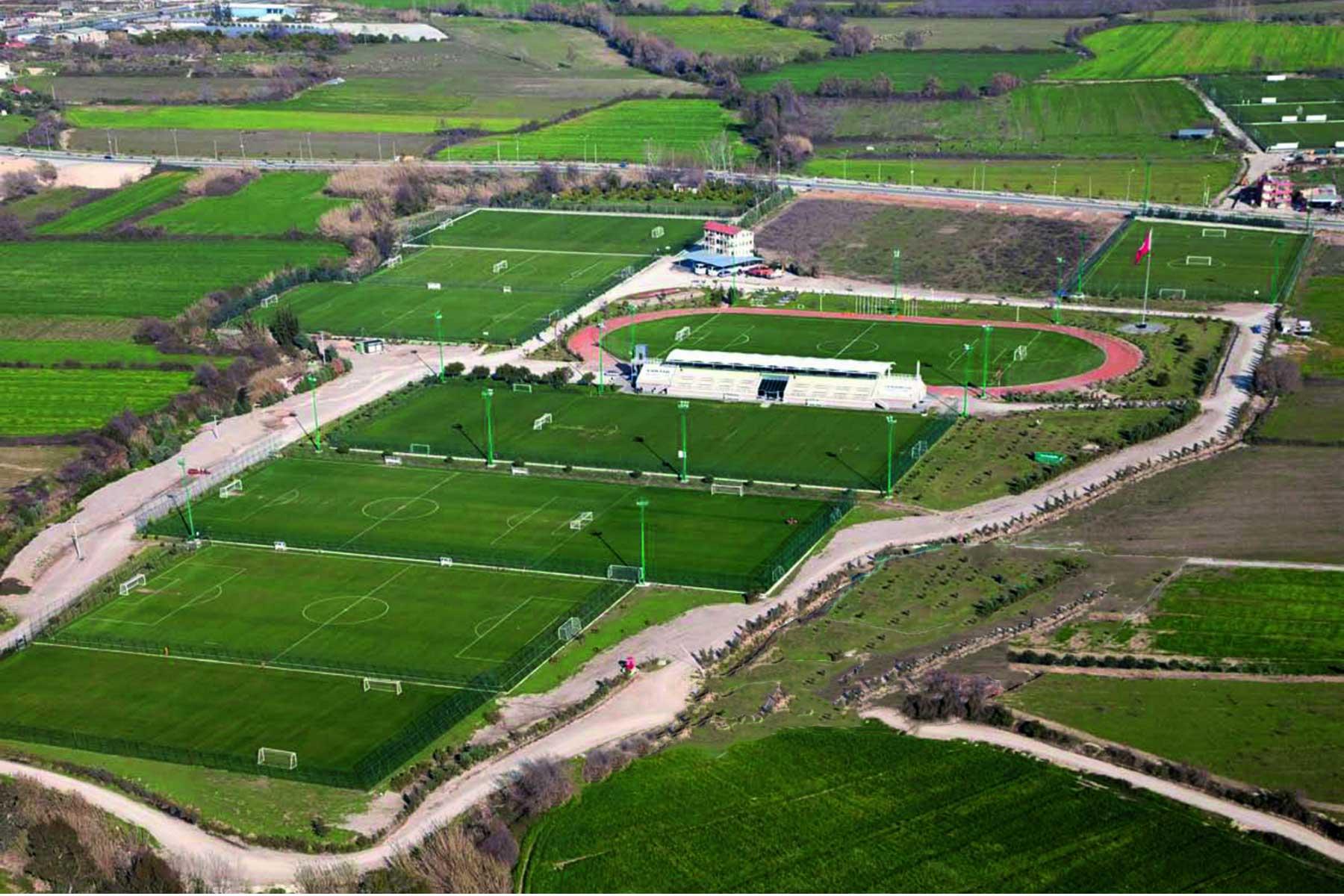 Emir Sports overzicht voetbalvelden