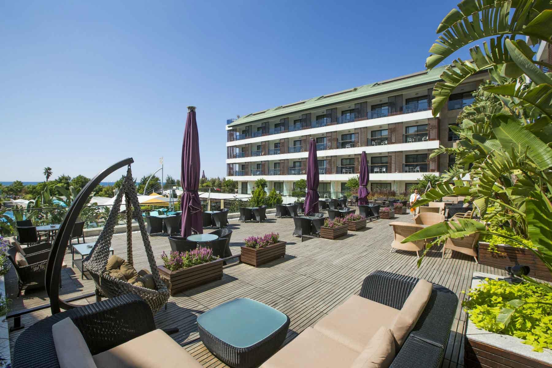Sensimar Side Resort & Spa terras