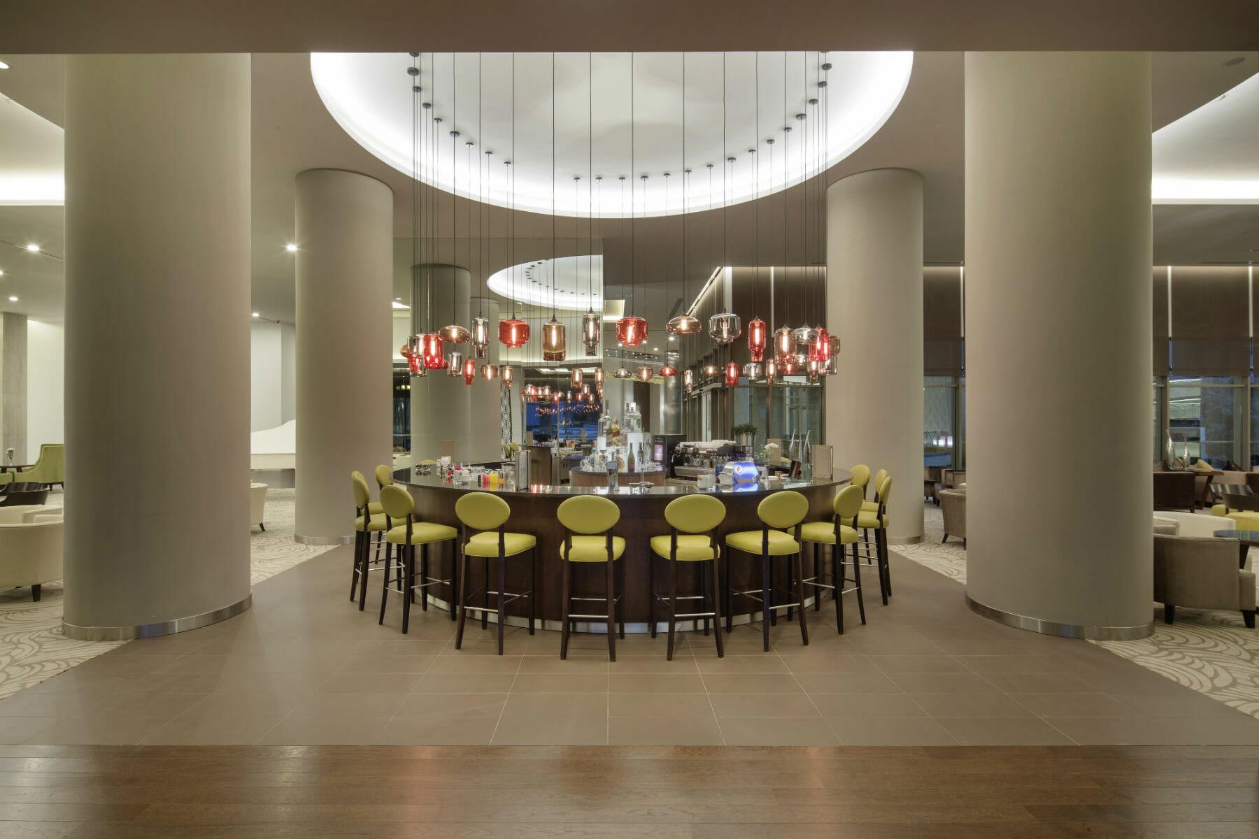 The Sense De Luxe bar