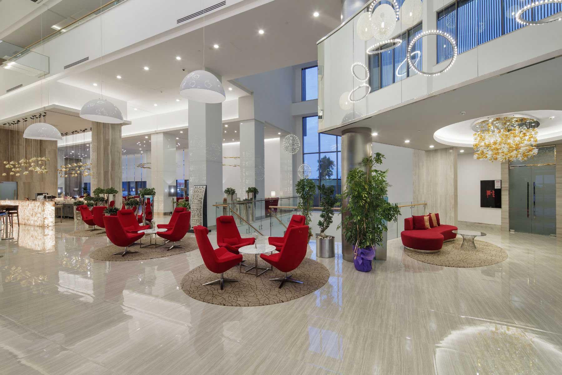 The Sense De Luxe lobby