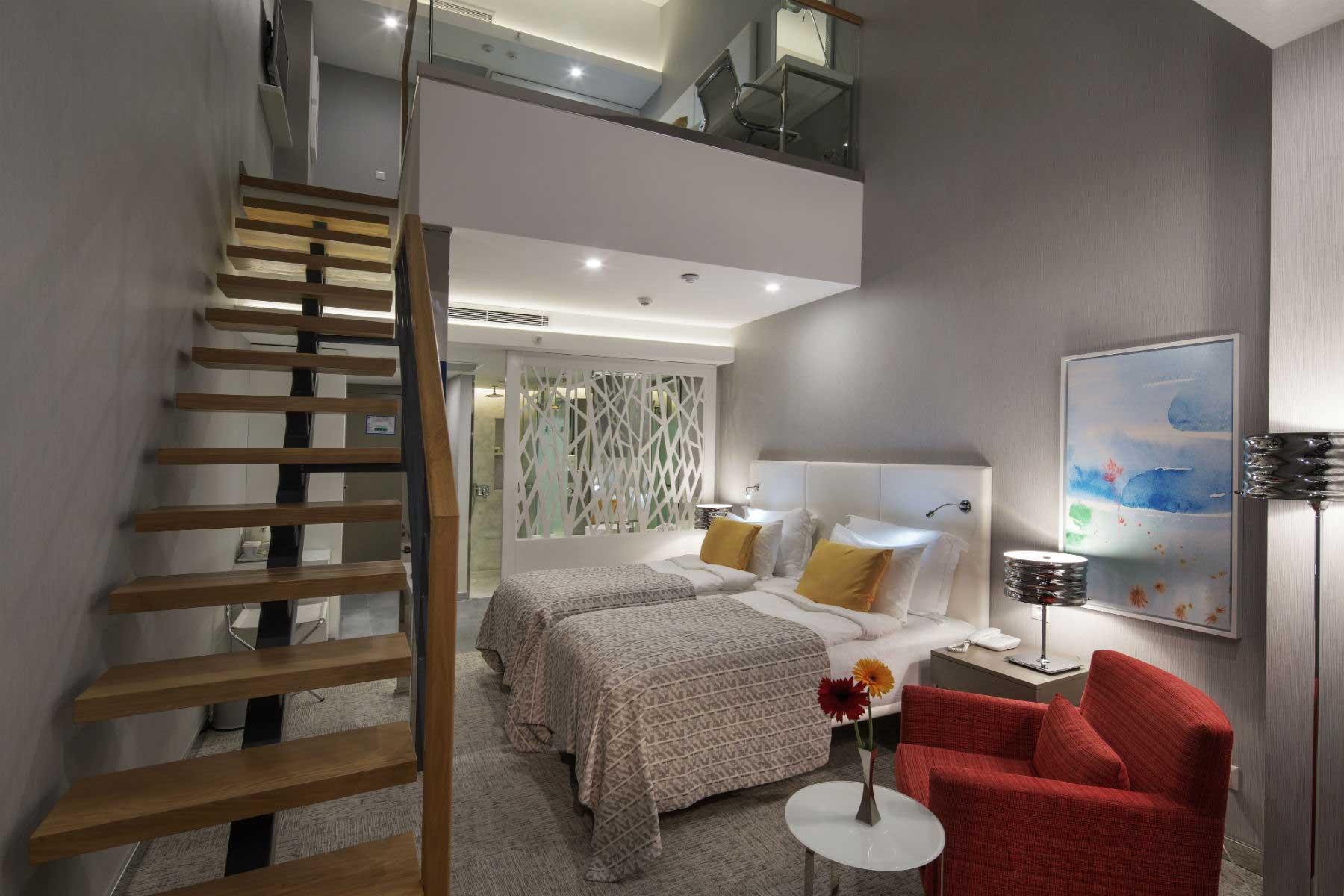 The Sense De Luxe familiekamer