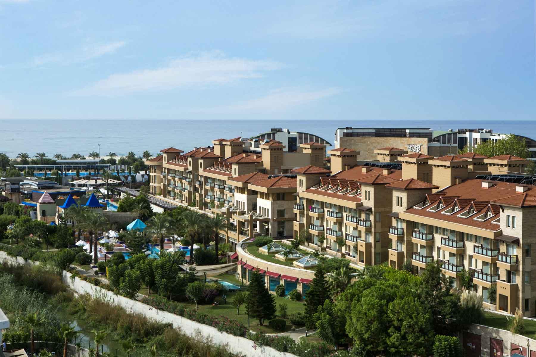 The Xanthe Resort & Spa buiten aanzicht 2
