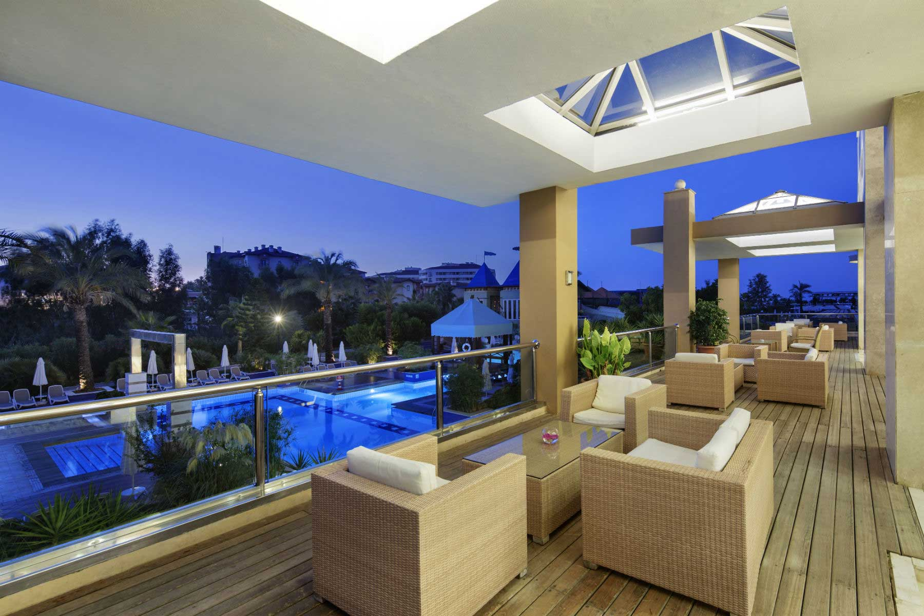 The Xanthe Resort & Spa roof bar
