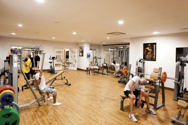 Sidestar Resort fitness